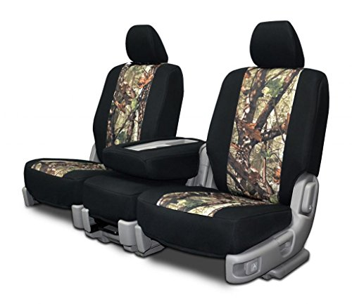 Custom Fit Seat Covers For Ford F 250 550 Rear 40 60 Split Bench Ds1 Neo Camo Fabric 2017