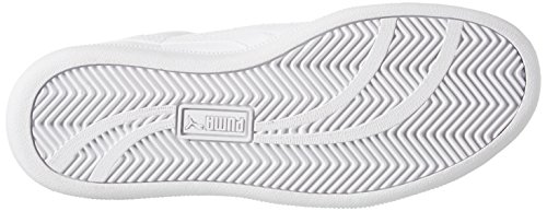 Puma Smash Fun L Jr, Unisex-Kinder Sneakers Weiß