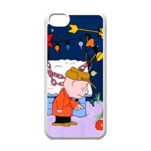IPhone 5C Phone Case for Charlie Brown Christmas pattern design