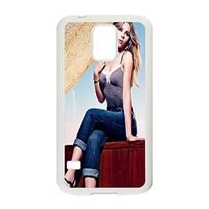 Samsung Galaxy S5 Cell Phone Case White Casual Scarlett Johansson G2K2LO