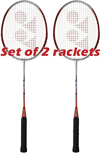 Yonex B-350 Badminton Racquet / Racket (Set of 2 Rackets)