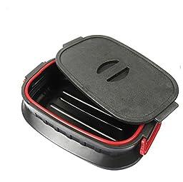 RUIRUI-18L folding box telescopic compartment trash can storage bucket storage box