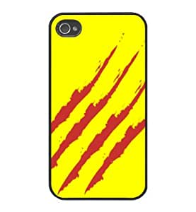 Senyera - Real Madrid - Funda Carcasa para Apple iPhone 4 / iPhone 4SAmplifier Marshall