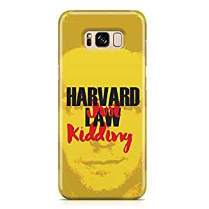 Samsung S8 Case Suits Case MIKE ROSS JUST KIDDING Unique design Favourite Tv shows Samsung Samsung S8 Cover Wrap Around