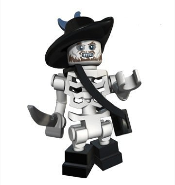 LEGO Pirates Of The Caribbean - Hector Barbossa Skeleton Version Minifigure -
