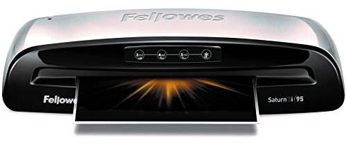 Fellowes Saturn3i 95, 9.5 Minute Warm-up with Pouches Kit