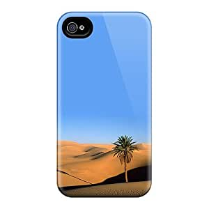 For Iphone 4/4s Fashion Design Desert Palm Case-adKiQaH3583GOHZV