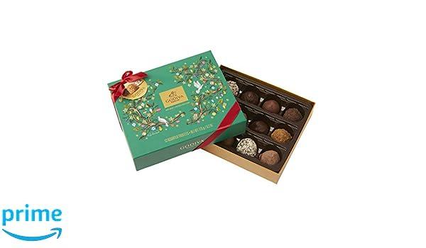 Godiva, Navidad 2018 bombones trufas surtidas caja regalo 12 piezas, 175g: Amazon.es: Alimentación y bebidas