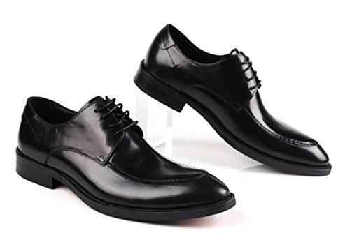 Nero 43 Stivali Marrone Caviglia appuntito Inverno Pelle All'aperto Banchetto Uomini Indossare Nozze XIE BLACK Pizzo Autunno Formale Scarpe 37 Britannico xwgRnpq