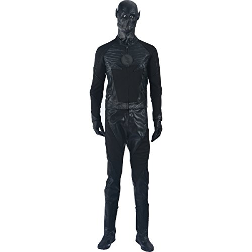 MLYX Men's The Flash Season II Zoom Cosplay Costume Black Outfit (L) (The Flash Cw Costume)