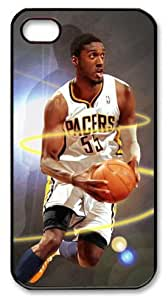 icasepersonalized Personalized Protective Case For HTC One M7 CoverRoy Hibbert NBA Indiana Pacers