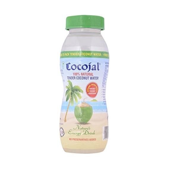 Cocojal Tender Coconut Water, 200ml (Pack of 6)