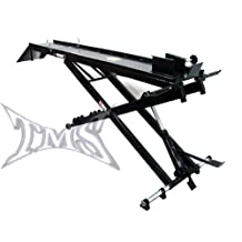 1000 lb Hydraulic Motorcycle Bike Lift Table Jack Service Stand Shop Ramp Drop Panel