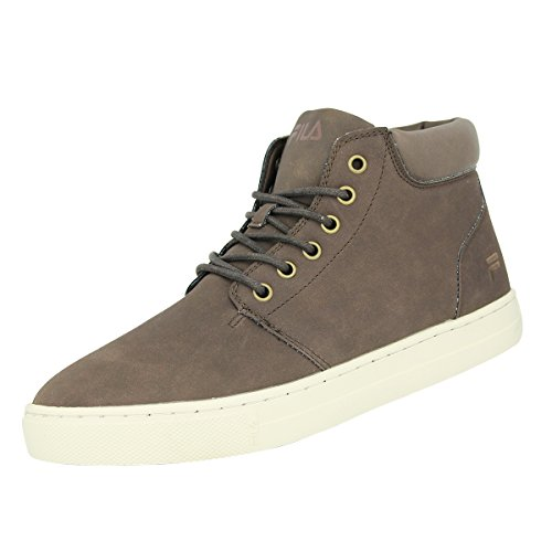 Fila BYRAM MID Chaussures Mode Sneakers Homme Cuir Suede Marron