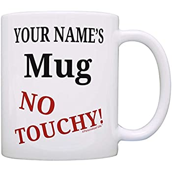 amazon com custom office humor gifts your name mug no touch