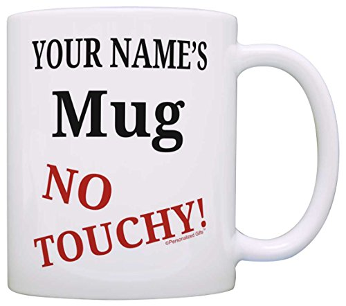 - Custom Office Humor Gifts Your Name Mug No Touch Personalized Gift Coffee Mug Tea Cup White