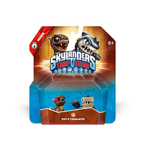 Skylanders Trap Team: Bop & Terrabite - Mini Character 2 Pack -