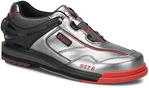 Dexter Mens SST 6 Hybrid BOA Black//Red Bowling Shoes