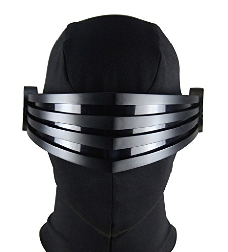 [Mtxc Special Forces Cosplay Prop Snake Eyes Face Mask/Goggles/Mask Black] (Snake Eyes Mask)