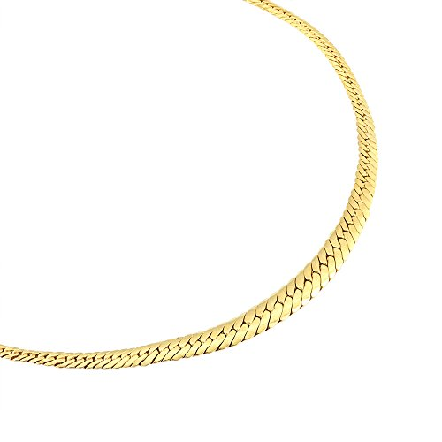 HISTOIRE D'OR - Chaine Or Jaune Maille Anglaise - Femme - Or jaune 375/1000