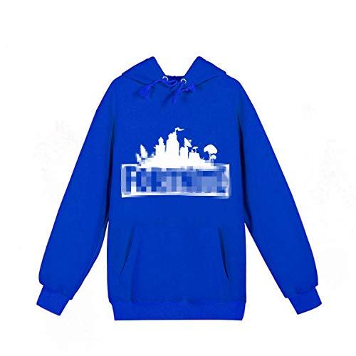 VMAKEIT Children's Xmas Long Sleeve T Shirt Kids Graphic Tees Hoodies Mountain(Blue) L