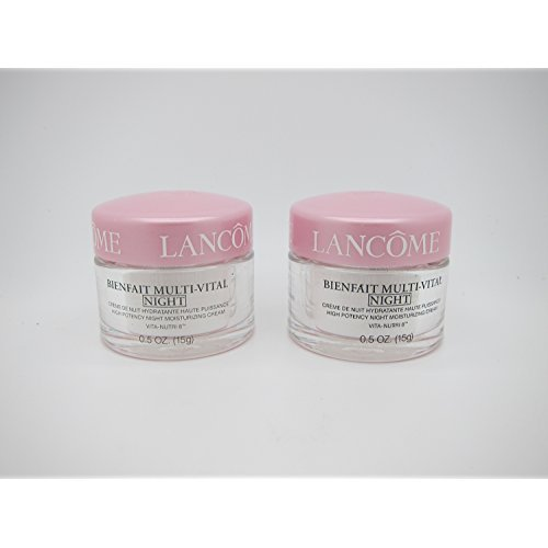 (Bienfait Multi-vital Night Moisturizing Cream .5 Oz - NEW (2pc) by Brand New)