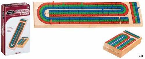 Toysmith 3-Track Cribbage Board
