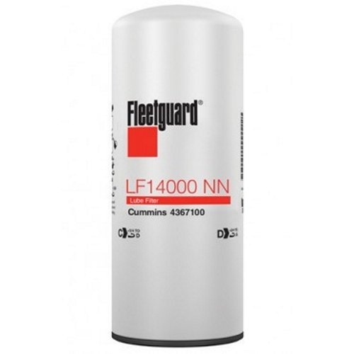 Fleetguard LF14000NN Oil Filter (Pack of 3) by Cummins Filtration