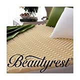 Beautyrest Convoluted Foam Mattress Topper, Size Queen (FMB945OS)