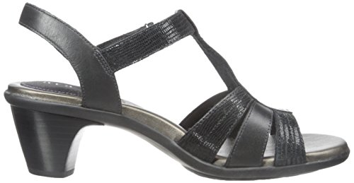 Aravon Womens Mary-AR Dress Sandal Black GbVIl