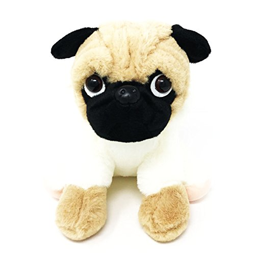 Petpany Dog Toy Cute Animal Shape Plush Soft Toy Washable Dog Play Toys Stuffed Animals Dog Toys for Small Medium Large Dog