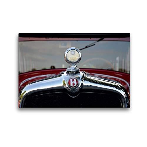 CALVENDO Toile Textile de qualité supérieure de 45 cm x 30 cm - Refroidisseur Oldtimer - Tableau sur châssis - Impression sur Toile - Bentley Mobilitaet Mobilitaet