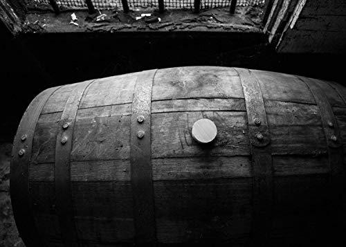 Bourbon Barrel Fine Art Print, Wild Turkey, Whiskey Canvas, Bourbon Whiskey Print, Bourbon Artwork, Man Cave Decor, Pub Decor, Kentucky Bourbon, Bar Wall Art, Bourbon Gift