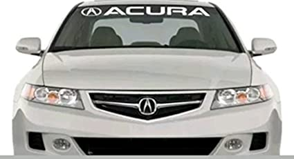 Amazoncom Acura Windshield Decal Car Sticker Banner Graphic Die - Acura decals