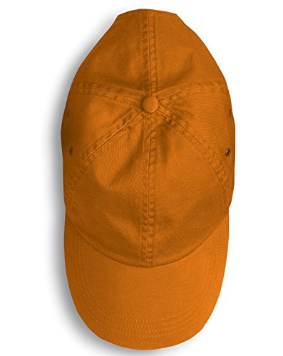 6 Panel Anvil 156 (Anvil 156 Twill 6-Panel Low Profile Cap Burnt Orange One Size)