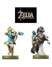 Nintendo amiibo Link(Archer・Rider) The Legend of Zelda Breath of the Wild Series JAPAN ver
