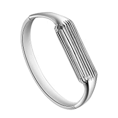 Premium Quality: Stainless steel. Stainless steel. Fit: Fits 6.3inch to 6.5 inch wrist. Please check your waist before buy the bangle.
