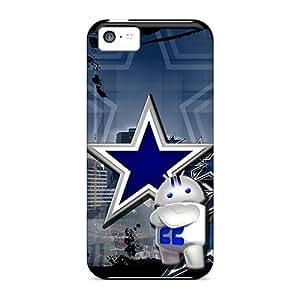 AvW2891InCj Cometomecovers Dallas Cowboys Durable Iphone 5c Tpu Flexible Soft Cases