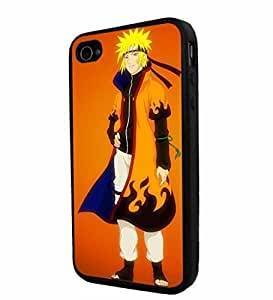 iphone covers Naruto Collection comic/cartoon #2, Cool Iphone 5c Smartphone iphone Case Cover Collector iphone TPU Rubber Case Black [By PhoneAholic]