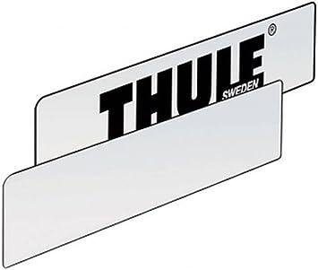 Thule 976200 9762 Placa matrícula Neutra: Amazon.es: Coche y moto