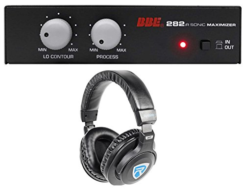 BBE 282IR Desktop Sonic Maximizer w/RCA Inputs/Outputs + Free Headphones by BBE