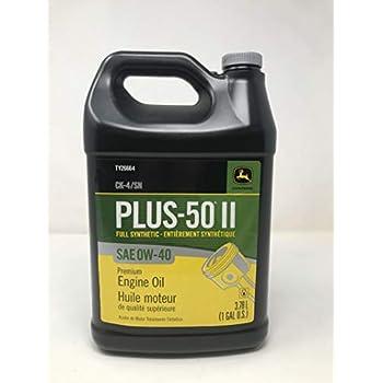 Amazon.com: John Deere Plus-50 II CJ-4 Synthetic Blend