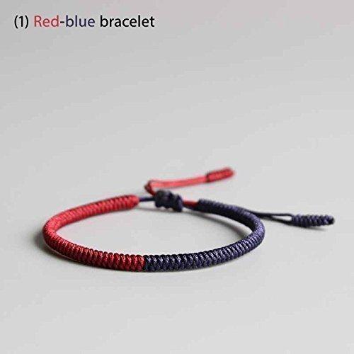 TALE Lucky Rope Bracelet Tibetan Buddhist Handmade Knots - Peace
