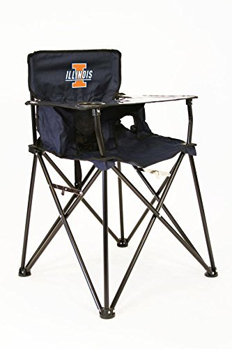 ILLINOIS FIGHTING ILLINI NCAA ULTIMATE TRAVEL CHILD HIGH CHAIR by Rivalry Distributing by Rivalry Distributing