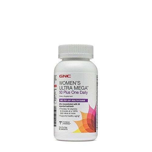 Gnc Women S Ultra Mega 50 Plus One Daily 60 Caplets