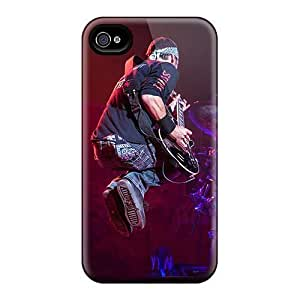 Protective Hard Phone Cases For Iphone 4/4s With Provide Private Custom Lifelike Godsmack Band Pattern KevinCormack