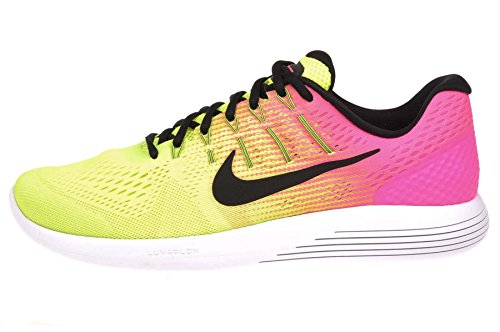 Nike Men's Lunarglide 8 Running Shoes, Multi-color/Multi-color, Size 10.5