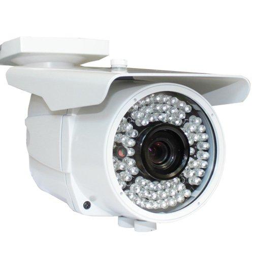 Ccd 520 Tv Lines (GW Security GW780A 520TVL Waterproof CCTV IR 520TVL Outdoor Bullet Security Camera - 1/3-Inch Sony CCD, 520 TV Lines, 72pcs IR LED)