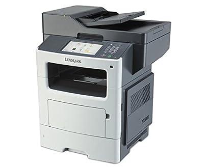 Lexmark MX611DE Laser Multifunction Printer - Monochrome - Copier/Fax/Printer/Scanner - 1200 x 1200 dpi Print - Duplex Print - Gigabit Ethernet - USB - 230 VAC