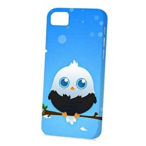 linJUN FENGCase Fun Apple iphone 4/4s Case - Vogue Version - 3D Full Wrap - Black American Eagle by DevilleART